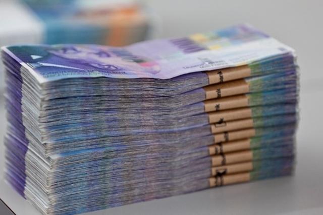 Liasse de billets de CHF 1000